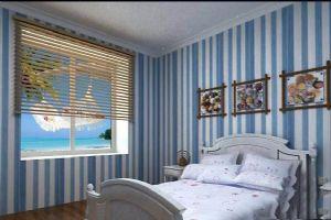 地中海风格卧室装饰设计效果图