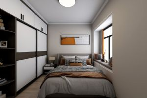 惠州三居室装修南泽裕园还原极简主义本质