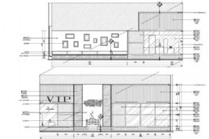 素品装饰(深化)设计项目:重庆渝快行航站楼客户接待中心