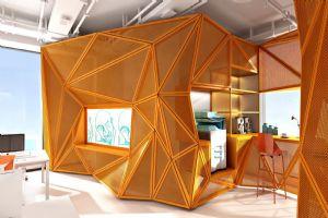 素品装饰深化设计项目:尤尼办公室