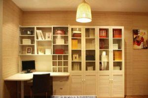 儿童房实木书柜